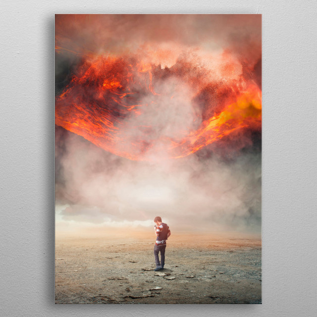 Fascinating  metal poster designed with love by apachennov. Decorate your space with this design & find daily inspiration in it. metal poster