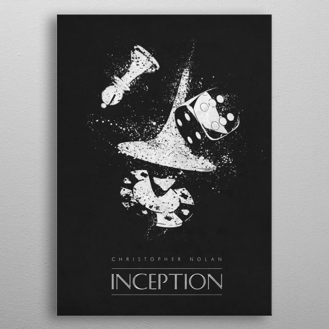 Inception metal poster