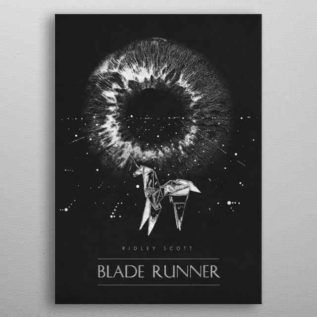 Blade Runner metal poster