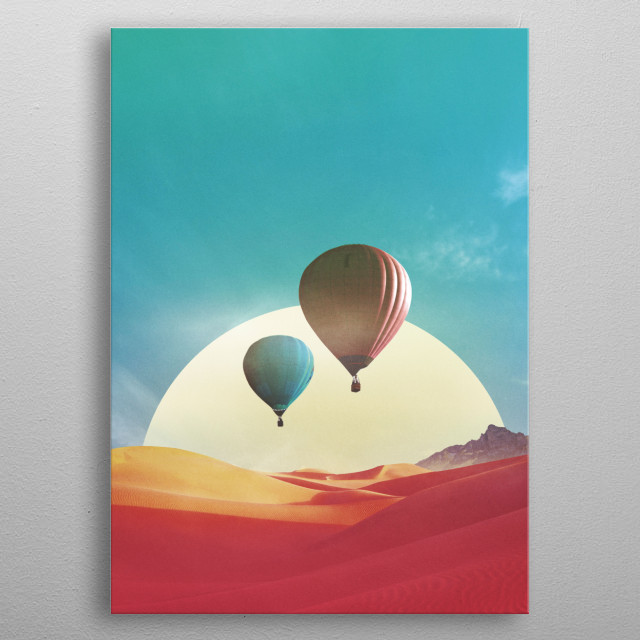 Fascinating  metal poster designed with love by lacabezaenlasnubes. Decorate your space with this design & find daily inspiration in it. metal poster