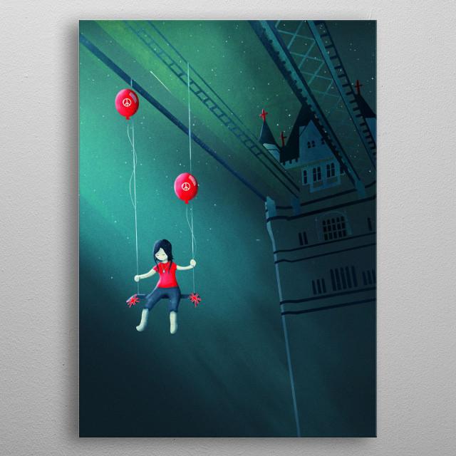 I had a Dream | Digital Art, 2016 metal poster