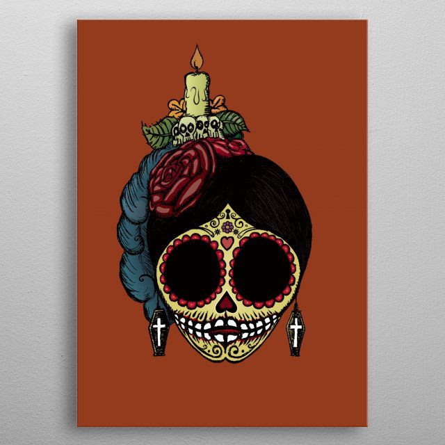 Fascinating  metal poster designed with love by mangulica. Decorate your space with this design & find daily inspiration in it. metal poster