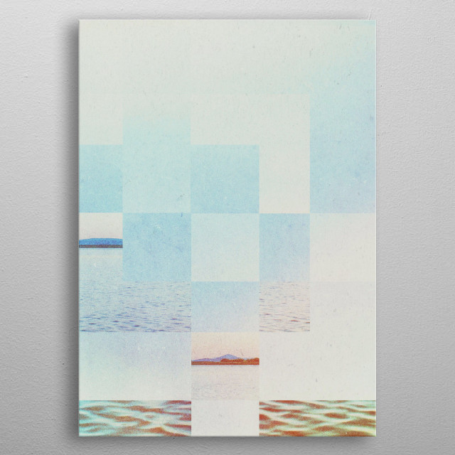 Fractions A51 metal poster
