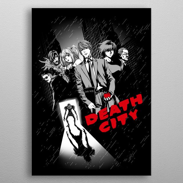 Death City metal poster
