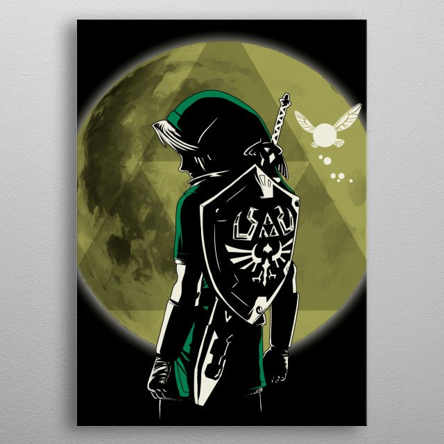 Legendary Hero metal poster
