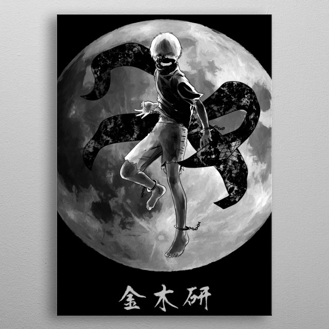 Kaneki Ken metal poster