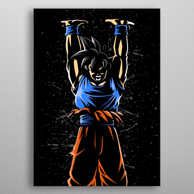 Universal force metal poster