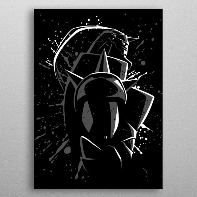 Metal metal poster