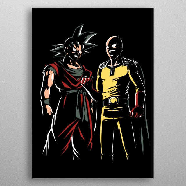 High-quality metal print from amazing Anime collection will bring unique style to your space and will show off your personality. metal poster