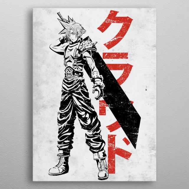 Mercenary Cloud metal poster