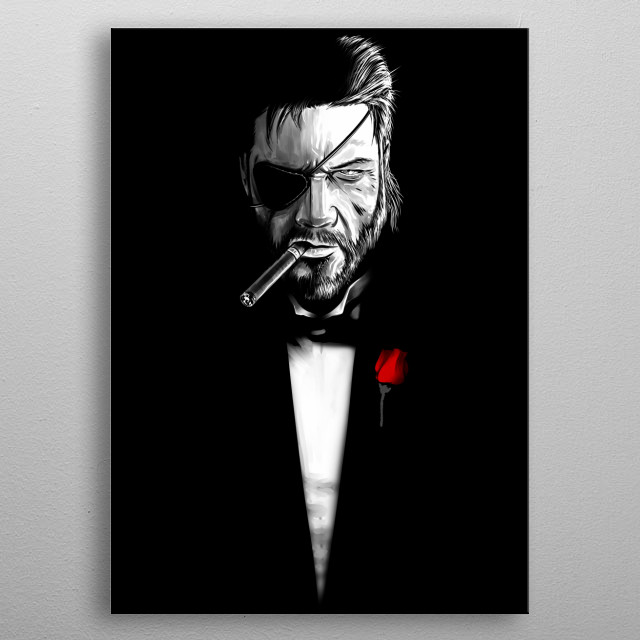 The BossFather metal poster