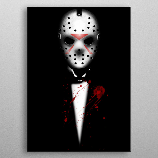 For Friday the 13th fans :) metal poster