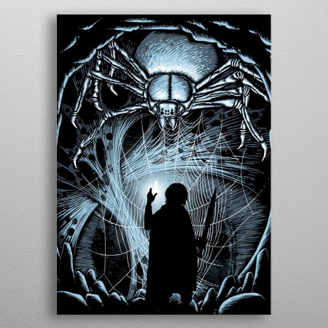 For LOTR fans :) metal poster