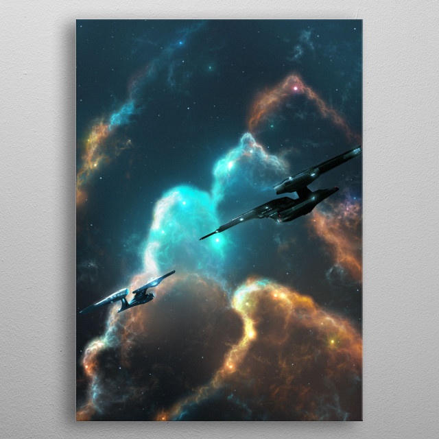 Into Darkness metal poster