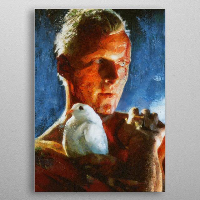 Blade Runner - Roy Batty metal poster
