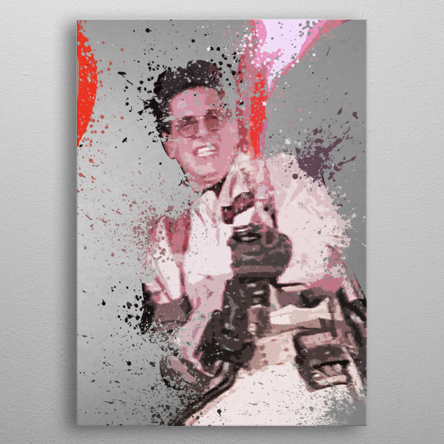 Spengler. Splatter effect artwork inspired by the Ghostbusters universe, 4 of 4. metal poster