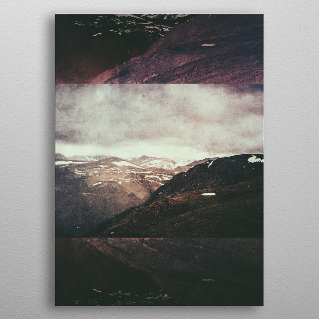 Fractions A56 metal poster