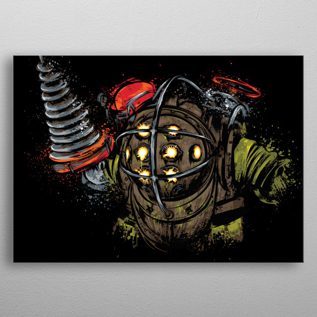 This marvelous metal poster designed by drmonekers to add authenticity to your place. Display your passion to the whole world. metal poster