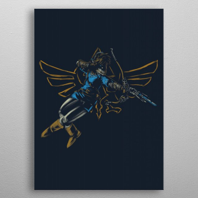 High-quality metal wall art meticulously designed by legendaryphoenix would bring extraordinary style to your room. Hang it & enjoy. metal poster