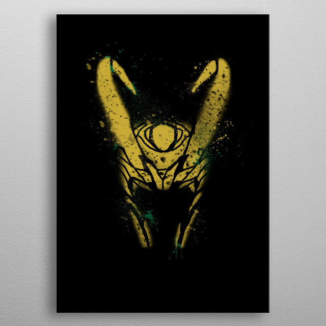 Fascinating metal poster designed by Wimido. Displate has a unique signature and hologram on the back to add authenticity to each design. metal poster