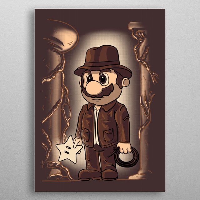 Plumbers of the lost star metal poster