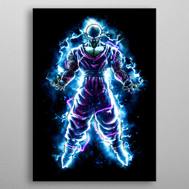 The Protector an anime inspired collaboration with CoD Designs metal poster