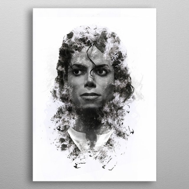 Fascinating metal poster designed by Axel Sardinha. Displate has a unique signature and hologram on the back to add authenticity to each design. metal poster