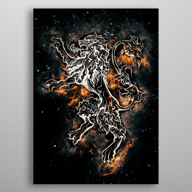 Fascinating metal poster designed by Olivier Sohy. Displate has a unique signature and hologram on the back to add authenticity to each design. metal poster