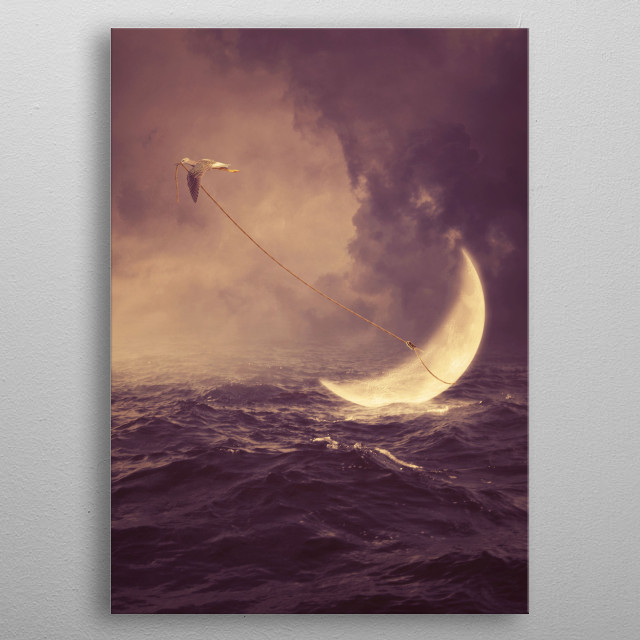 High-quality metal wall art meticulously designed by albulenapanduri would bring extraordinary style to your room. Hang it & enjoy. metal poster