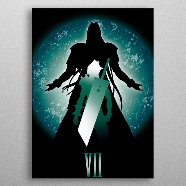 Final Battle metal poster