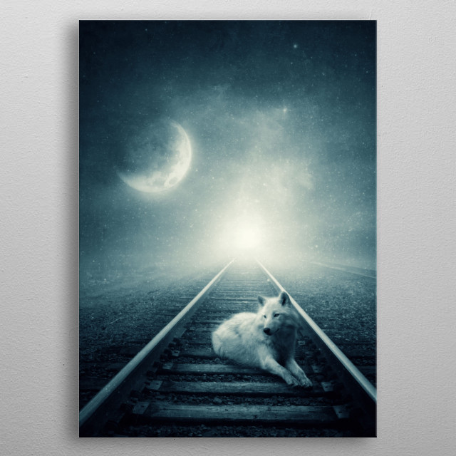Fascinating  metal poster designed with love by albulenapanduri. Decorate your space with this design & find daily inspiration in it. metal poster