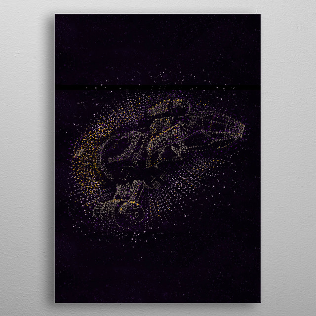 Fascinating metal poster designed by Legendary Phoenix. Displate has a unique signature and hologram on the back to add authenticity to each design. metal poster