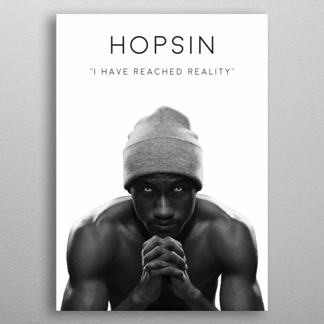 I have reached reality ~ Hopsin metal poster