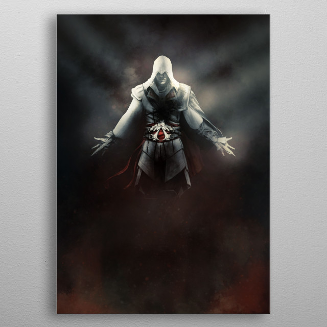 Ezio • For the Fans metal poster