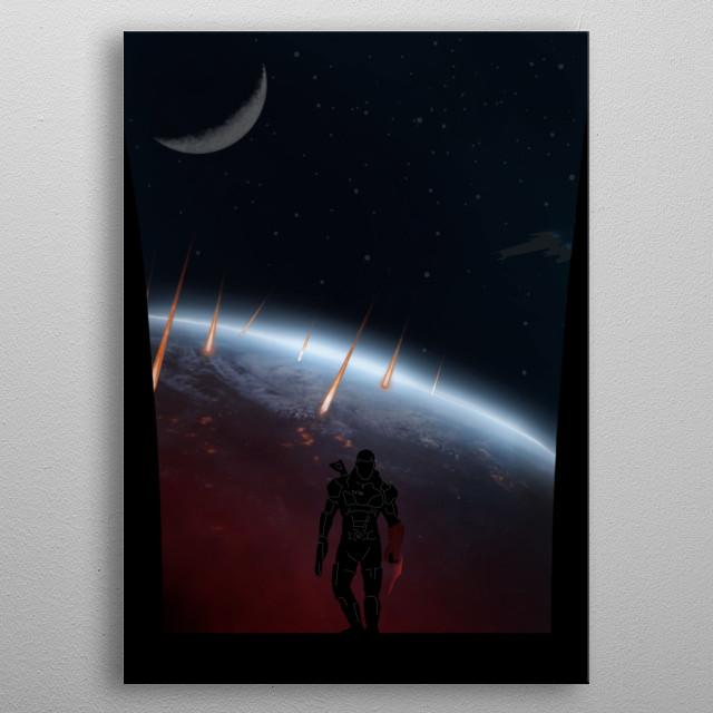 Mass Effect metal poster