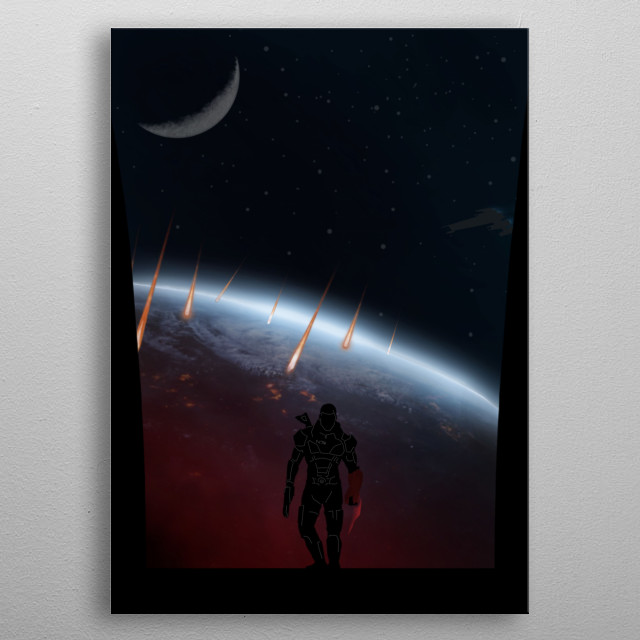 Fascinating metal poster designed by KKcreative. Displate has a unique signature and hologram on the back to add authenticity to each design. metal poster