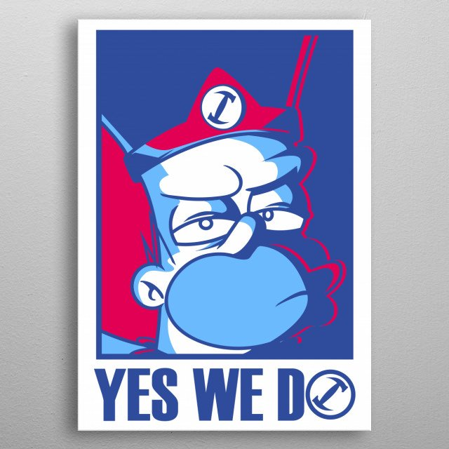 Yes, we do ^^ metal poster