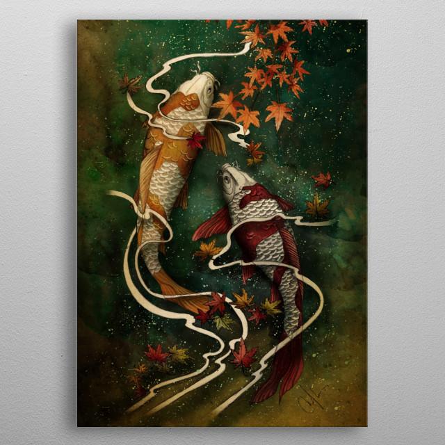 Autumn Kois metal poster