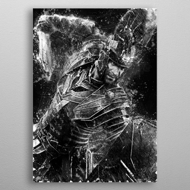 Roman Soldier - Ryse Son of Rome metal poster