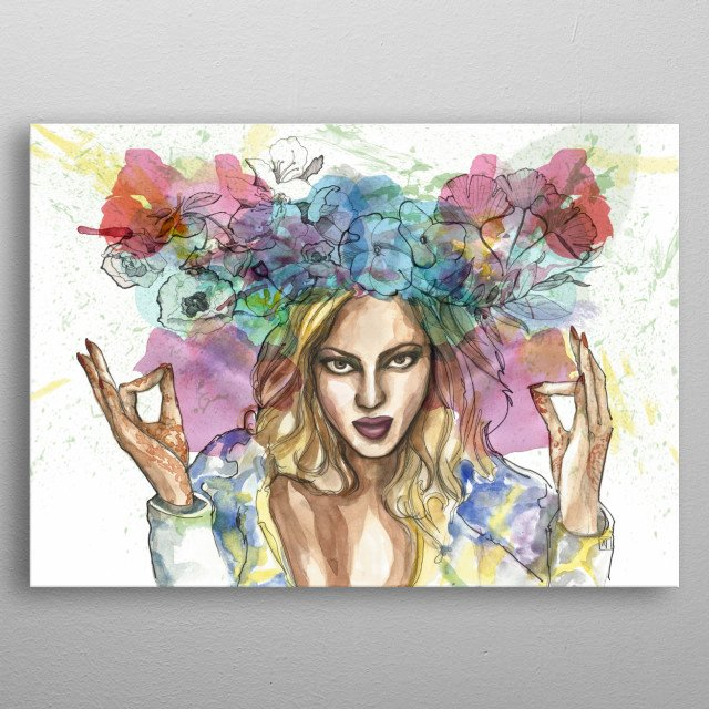 This marvelous metal poster designed by adrietejero to add authenticity to your place. Display your passion to the whole world. metal poster