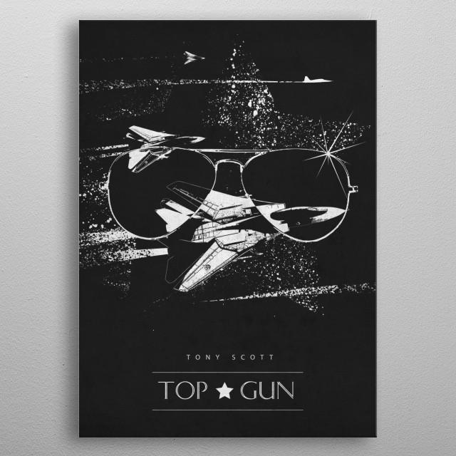 Top Gun metal poster