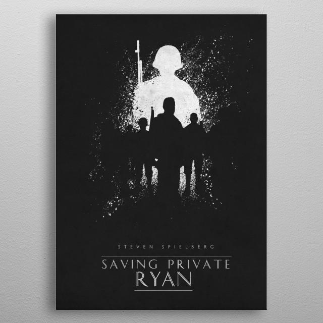 Saving Private Ryan metal poster