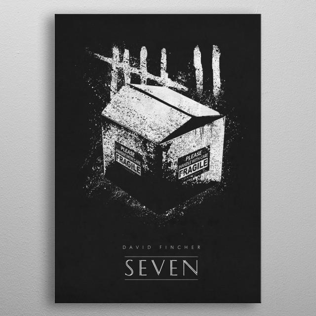 Seven metal poster