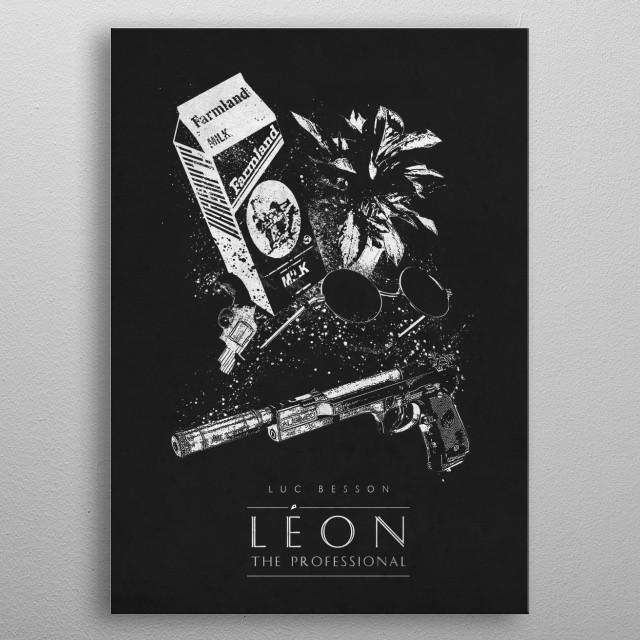 Leon metal poster
