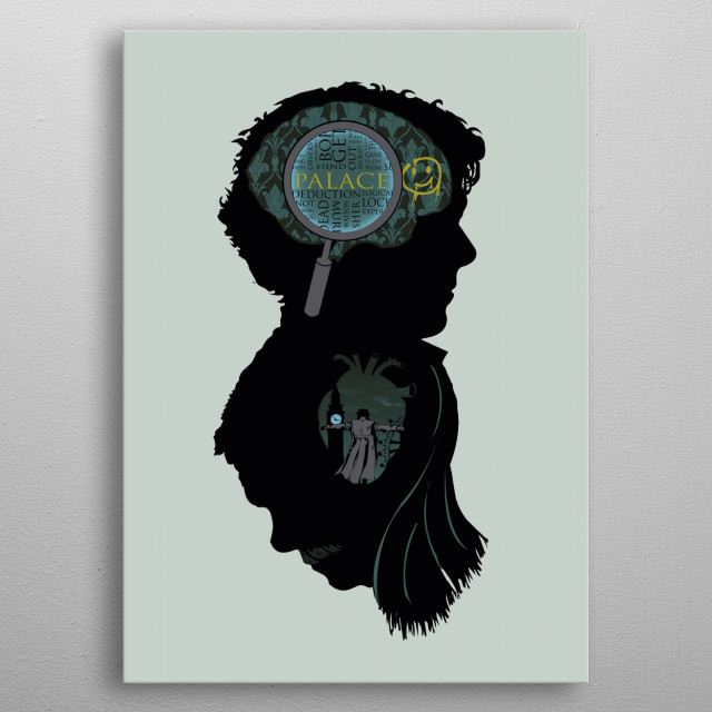 Mind and Heart metal poster