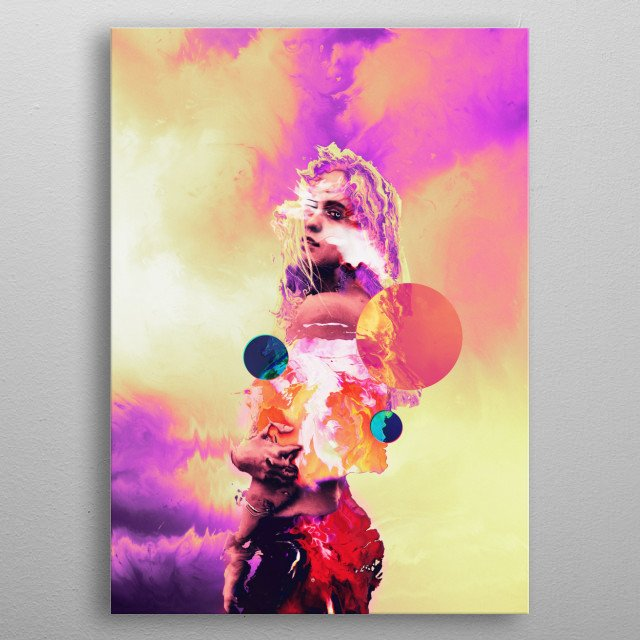 High-quality metal print from amazing 404 Glitch collection will bring unique style to your space and will show off your personality. metal poster