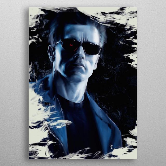 Terminator metal poster