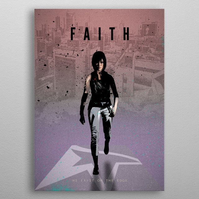 Legends of Gaming - Faith metal poster