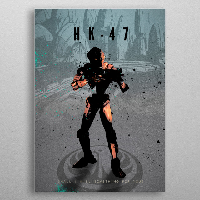 High-quality metal print from amazing Legends Of Gaming collection will bring unique style to your space and will show off your personality. metal poster