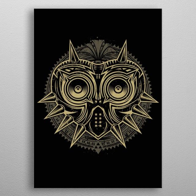 Majora´s mask... metal poster